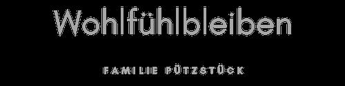 Wohlfuehlbleiben.de – Ferien und Urlaub bei Familie Pützstück Logo
